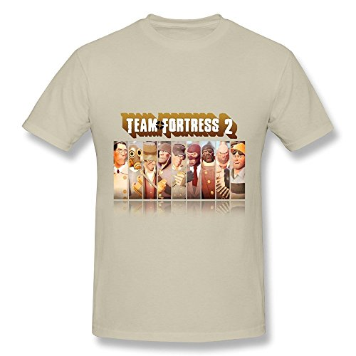 HUBA Men's Tees Team Fortress 2 Natural Size XL