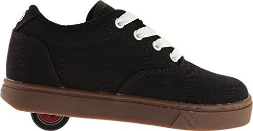 Heelys Lancia La Scarpa Da Skate (bambino / Bambino / Bambino Grande) Nero / Bianco / Gomma