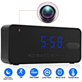 Inflared Sensing Hidden Camera Alam Clock - P.I.R. 26 feet Night Vision Range Spy Camera 15 Hours Non Stop Surveillance Cam With 32GB Memory