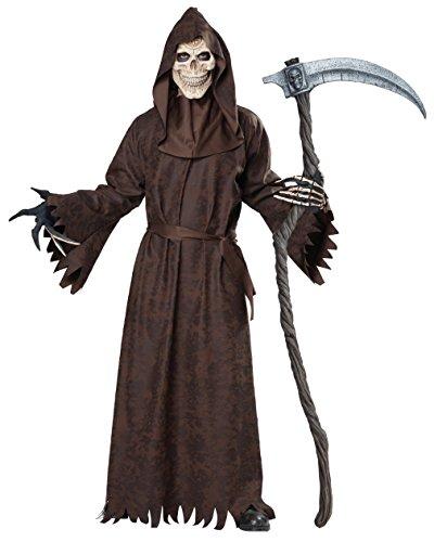 (California Costumes Men's Ancient Reaper, Brown,)