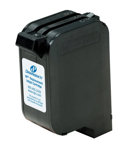 Hitachi Remanufactured Ink Cartridge Replacement for HP 23 ( Black )