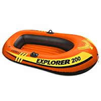 Intex Explorer 200, bote inflable para 2 personas