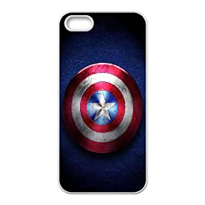 Captain-America iPhone 4 4s Cell Phone Case-White Fsrsk