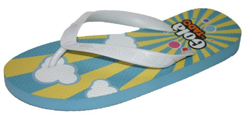 Gola - Chanclas para mujer - Sky Blue/Yellow/White