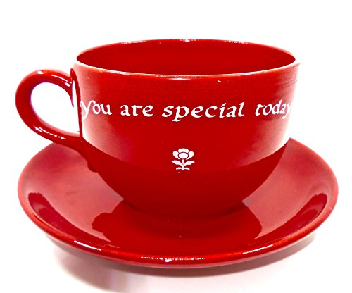 Waechtersbach Special Moments Cup & Saucer,Large,Red,Ceramic,numbered,Made for sale  Delivered anywhere in USA