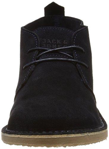 JACK & JONES JJGOBI Herren Chelsea Boots Blau (Navy Blazer)