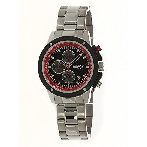 Nice Italy W1057ecb021008 Enzo Chrono Bracciale Mens Watch