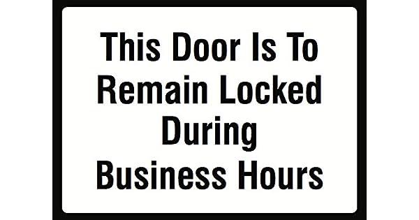 Amazon.com: Este Puerta se cierra puertas a permanecer ...