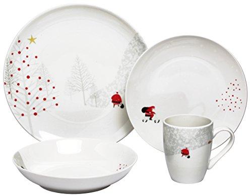 Melange Christmas Porcelain Setting Dinnerware product image