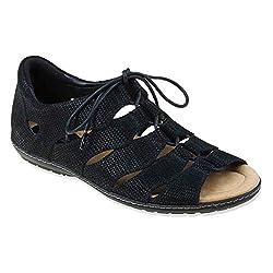 Earth Women's Plover Orange Sandal 5 B (M)