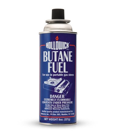Hollowick BF008 Butane Fuel 8 Oz Canister ( 12 Pack )