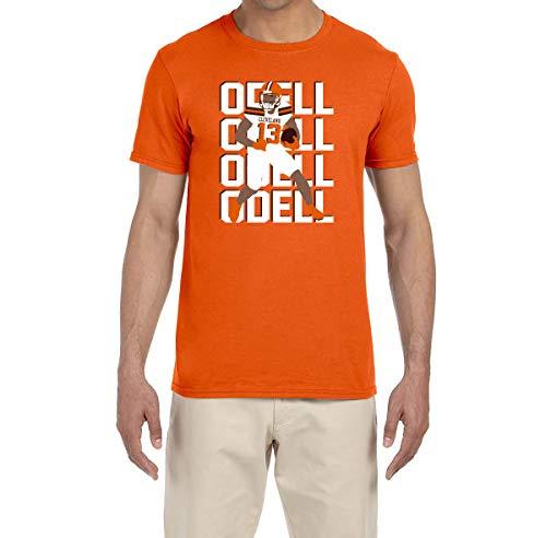 - Tobin Clothing Orange Cleveland Odell Text Pic T-Shirt Youth Medium