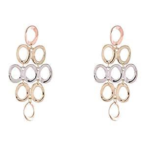 Flying Jewellery Brass Dangle Earrings