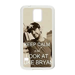 Make Your Own Personalized Cell Phone Case for SamSung Galaxy S5 I9600 Cover Case - Luke Bryan HX-MI-040116