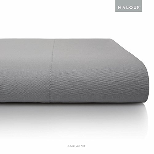 MALOUF 100% Rayon from Bamboo Sheet Set - 4-pc Set - Queen...