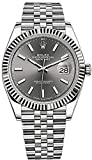 Men's Rolex Datejust 41 Dark Rhodium Dial Stainless Steel Watch on Jubilee Bracelet
