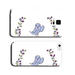 Greeting card with bird. cell phone cover case iPhone6