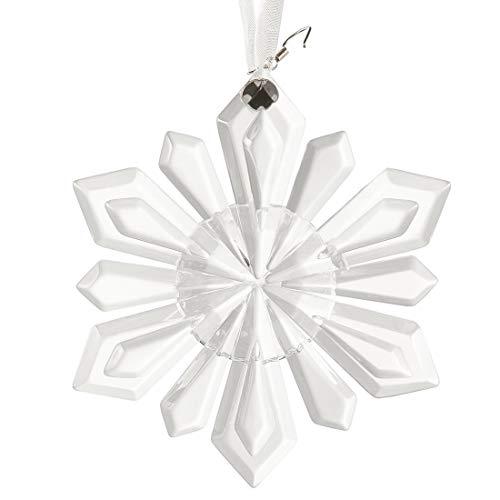 H&D Crystal Little Snowflake Ornament Chandelier Prisms Drop Pendants