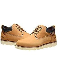 Jacata Men's Low-Cut Work Boots Water Resistant Boots Natural Rubber Blend Soles