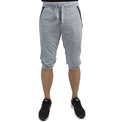 [Vibes Gold Mens Grey French Terry 18