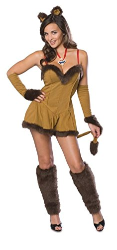 Cowardly Lioness Costume - Large - Dress Size 12-14