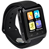 Twinbuys Bluetooth Smartwatch for Android Kids Smartphones Handsfree Sync Call Message Bluetooth Pedometer Fitness Tracker Sleep Monitor Smart Watches MODE 2 Black