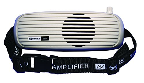 Amplivox S207 BeltBlaster Waistband Amplifier Includes Neoprene Case with Adjustable - Techno Belt