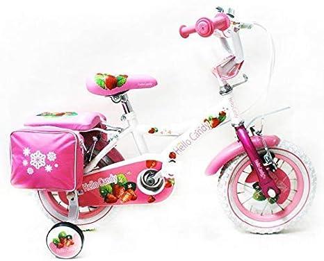 Reset - Bicicleta de niña New Hello Candy 16 Blanca Cesta incluida ...