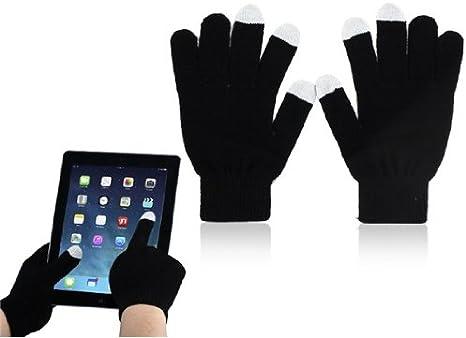screeng Loves pantalla táctil Guantes    Touch Gloves Para Pantalla Táctil Smartphone Guantes    Guantes    pantalla táctil Guantes, color negro, tamaño: Amazon.es: Ropa y accesorios
