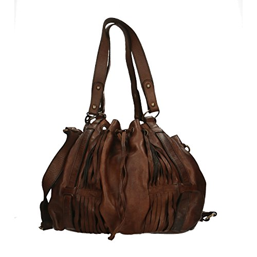Comprar Barato Realmente Footlocker Imágenes Baratas Chicca Borse Luxury Edition Shoulder Bag Vintage Borsa a Spalla da Donna in Vera Pelle 100% Genuine Leather 40x27x14 Cm Holgura En Italia Salida Exclusiva Gu1OG9