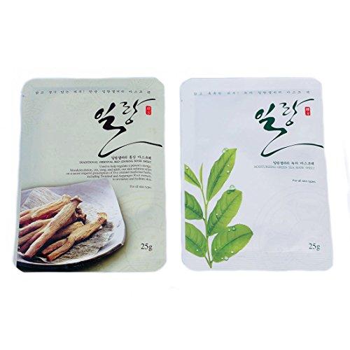 Ylang Korea Traditional Collagen Essence Full Face Facial Ma