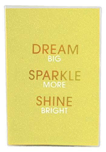 iscream 'Dream Sparkle Shine' Metallic Glitter Cover Book-Bound Lined-Page 12