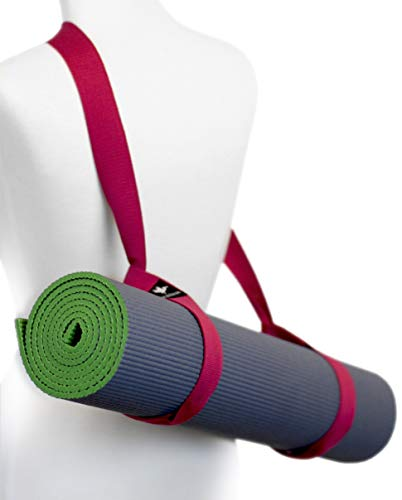 Pelikus Pelikus-5-L Yoga Mat Carry Strap Sling - Adjustable, Durable, Cotton, 62