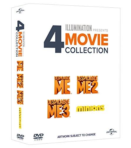 Despicable Me 1   3 + Minions Collection