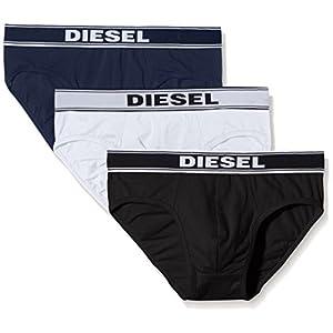 Diesel UMBR-ANDRETHREEPACK, Slip Uomo, Pacco da 3