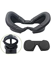 VR Face PU Leather Cover Mask & Face Pad for Oculus Rift S PC-Powered VR Gaming Headset Face Foam Cushion Cover Replacement Comfort Set
