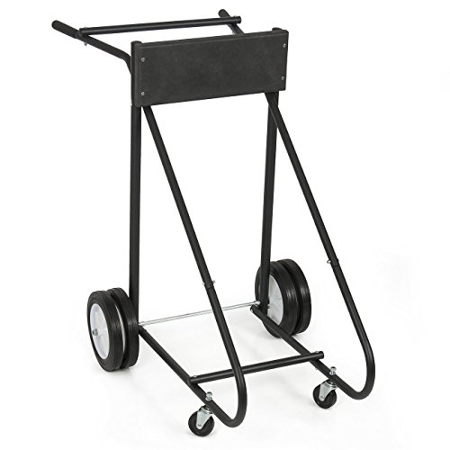 ARKSEN-315-LB-Outboard-Boat-Trolling-Motor-Stand-Carrier-Cart-Dolly