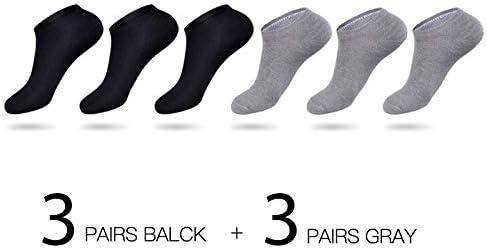 LIYICHEN 6 Pares/Calcetines de algodón de Muchos Hombres ...