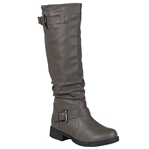 Wc Boot Grey Women's Sunny Co Brinley Riding q7t06f6x