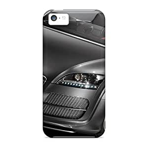 Iphone 5c Case Cover - Slim Fit Tpu Protector Shock Absorbent Case (audi Tt Concept)