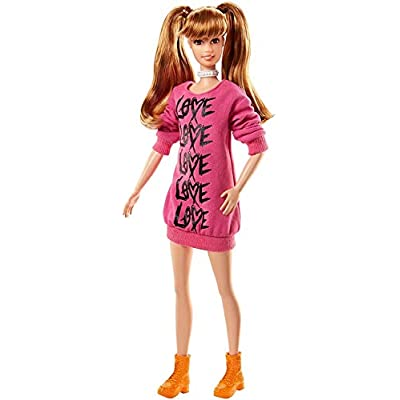 Barbie Fashionistas Doll Wear Your Heart: Toys & Games