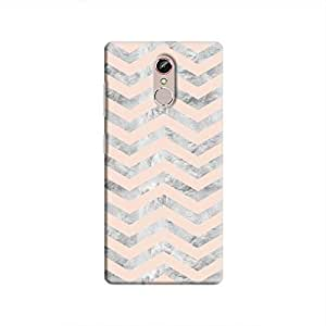 Cover It Up - Silver Pink Tri Stripes Gionee S6s Hard case