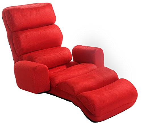 merax-relaxing-foldable-lazy-sofa-chair-with-pillow-stylish-sofa-beds-lounge-chair-red