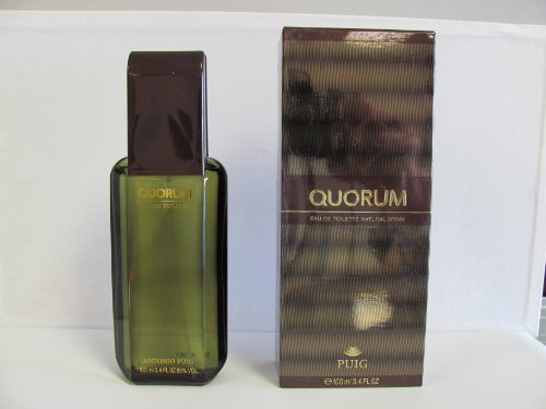 Quorum by Antonio Puig Eau De Toilette Spray for Men 3.40 oz Pack of 10