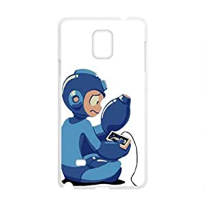 Blue Rockman Cell Phone Case for Samsung Galaxy Note4