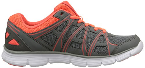 KappaUlaker Interior Grey Red Gris Mujer Deportes Zapatillas de Coral C23 Gris de 7xqwIT7