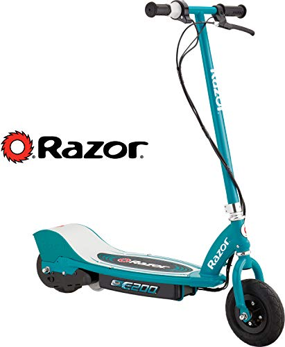 Razor E200 Electric Scooter - Teal (Gift For 7 Year Old Boy 2015)