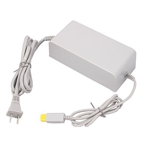 Eriotpy AC Home Wall Power Supply Adapter Cord US Plug for Nintendo Wii U Console System (Wii Universal Adapter)