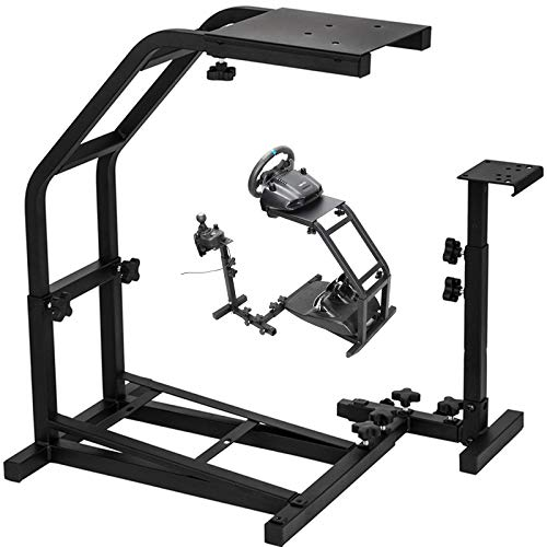VEVOR Racing Steering Wheel Stand Pro Shifter Mount Logitech G27 G25 E G29 Racing Wheel Stand with V2 Support Game Support Wheel and Pedal Mount Not Included (Stand, G29 G27 G25)