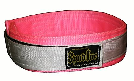Women's Pink Deadlift CrossFit Weighlifting Belt (Medium 29-34 inches around the belly button)
